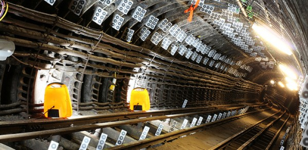 Smart tunnel complete with CSIC monitoring devices
