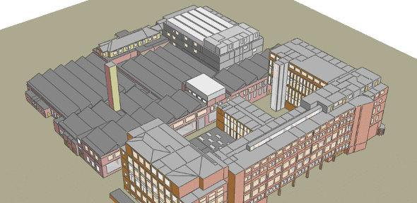 Computer model of the Department
