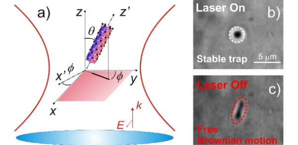 Optical trapping of Nanotubes