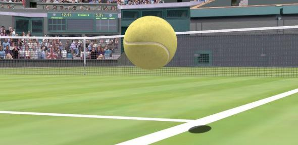Hawk-Eye used in tennis