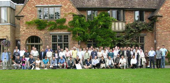 Delegates at Wolfson College