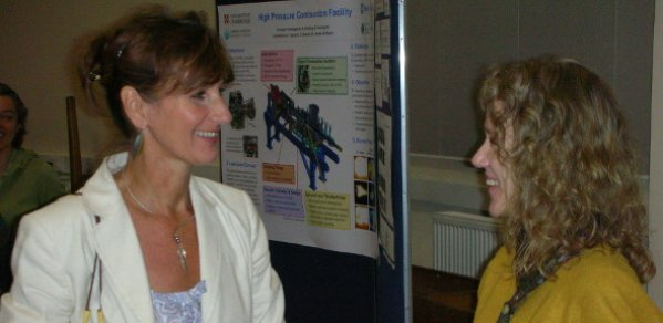 Jane Hunter event organiser (left)