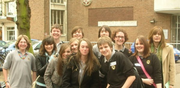 Year 10 students from Harry Carlton School