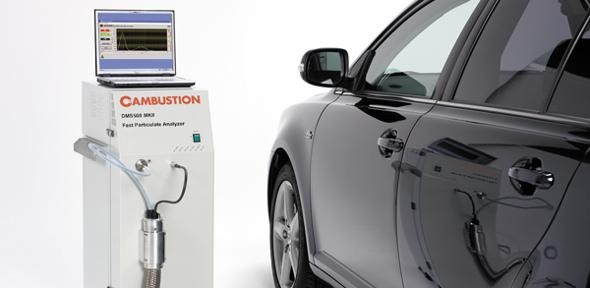 Cambustion's fast response particle analyser is used in the development of cleaner engines
