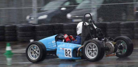 FBR11 at a wet Hockenheim ring