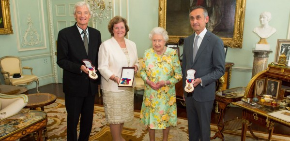 Professor Dame Ann Dowling receives the Order of Merit from HM The Queen