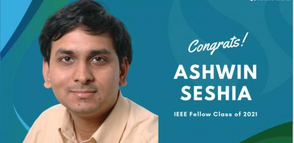 Ashwin Seshia IEEE Fellow 2021