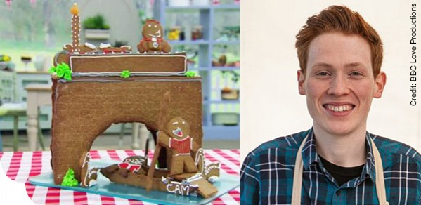 Alumnus Competing In Great British Bake Off Department