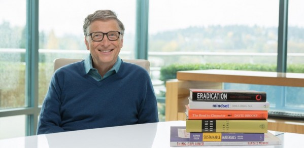Bill Gates and his top 6 books for 2015