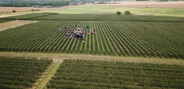 Kent orchards can be surveyed before harvest for accurate yield estimates