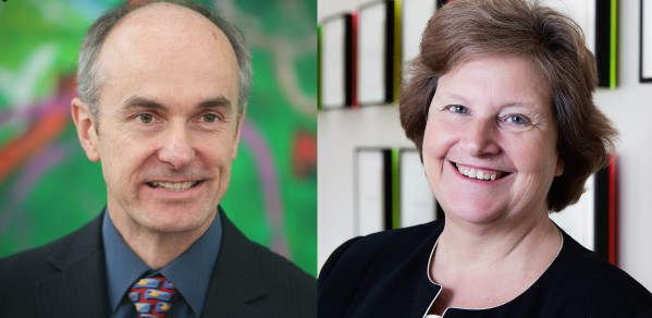 Professor Sir David Mackay and Professor Dame Ann Dowling
