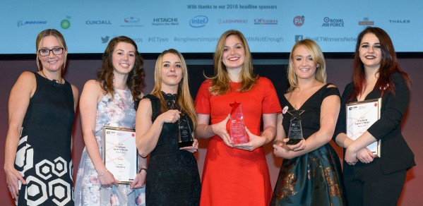 IET Woman Engineer of the Year Awards honorees