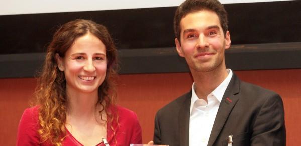 Dr Giorgia Longobardi and Dr Max Bock
