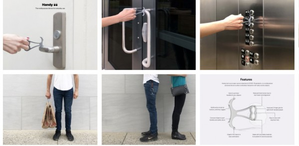 'Handy' a multipurpose personal device to allow contactless interaction with daily routine objects