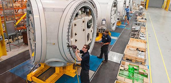 Nordex USA manufacturing facility - Jonesboro, Arkansas, USA