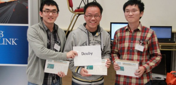 The winners: Team Douby