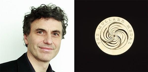 Mullard Medal credit: The Royal Society