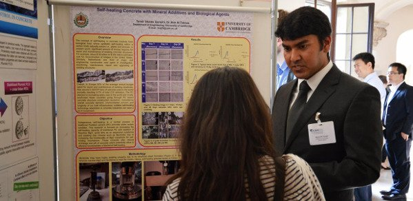 Tanvir Qureshi, first year PhD student in civil engineering