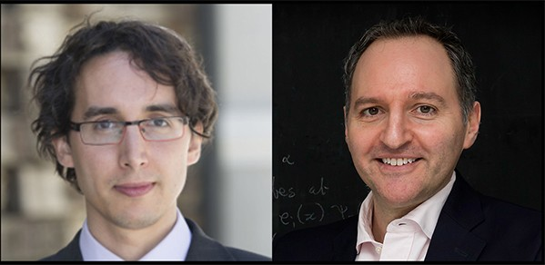 Dr Jose Miguel Hernandez Lobato (left) and Dr Adrian Weller.