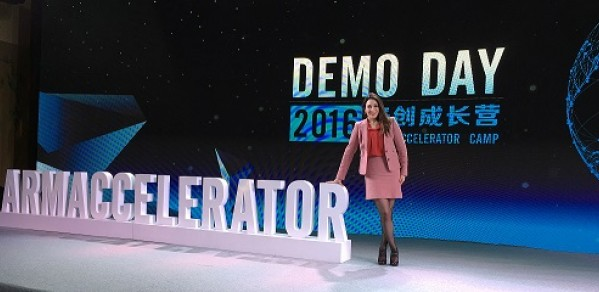 Heba at the UK-China TechHUB 2016