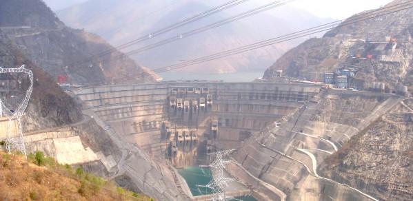 Xiaowan Dam in China