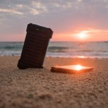 A new battery design from the IfM could eliminate the need for a separate solar cell and power converter.