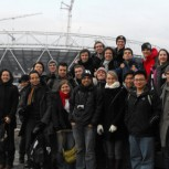 MPhil students at Olympic Park