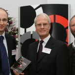 Dr Matthew Juniper, Mike Hield and Robert Llewellyn