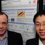 Dr Tim Coombs and Weijia Yuan