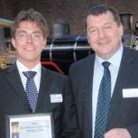 Hugo Scott Whittle (left) & Andreas Goss