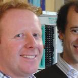 Dr Alex Webb (left) Dr Jorge Gonçalves