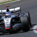 Kimi Raikkonen's McLaren at the Spanish Grand Prix 2005