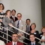 Dr Tim Wilkinson, front row, second from left, with the other Pilkington Prize winners