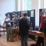 Student project displays at Project Expo 2007