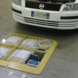 Fiat prototype car with sensor pad