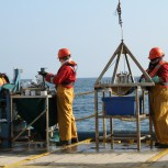 Diana Thomas-McEwen - Offshore deck seabed sampling