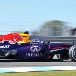 Sebastian Vettel's 2013 car