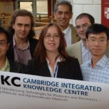 The five CIKC sponsored attendees at the Ignite course pictured with Maggie Tanner and Shai Vyakarnam