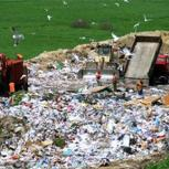 Landfill site in Poland. The toolkit aims to encourage manufacturers to consider reusability, reparability and recycling at ever