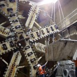 8m diameter tunnelling machine