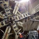 8m diameter tunnelling machine
