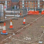Pipeline and BOTDR positions at Chingford