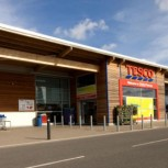 The first zero-carbon supermarket, in Ramsey, Cambridgeshire