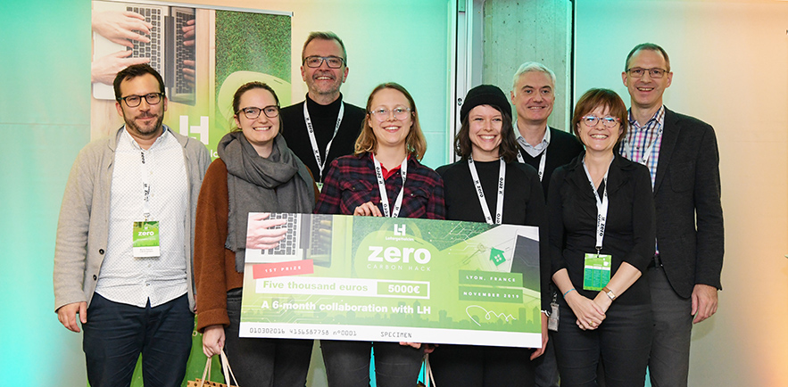 Zero Carbon Hackathon encourages students to rethink material use in construction