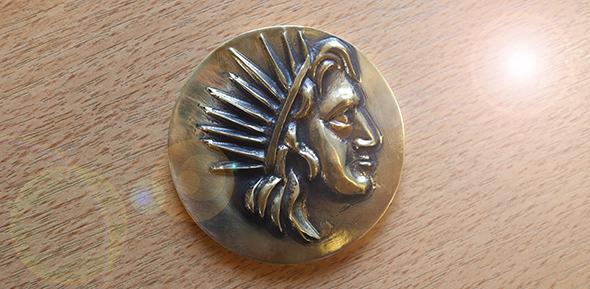 Helios prize medal