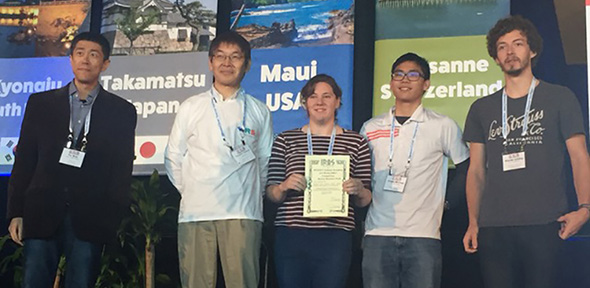 Cambridge team take top prize in international robotics