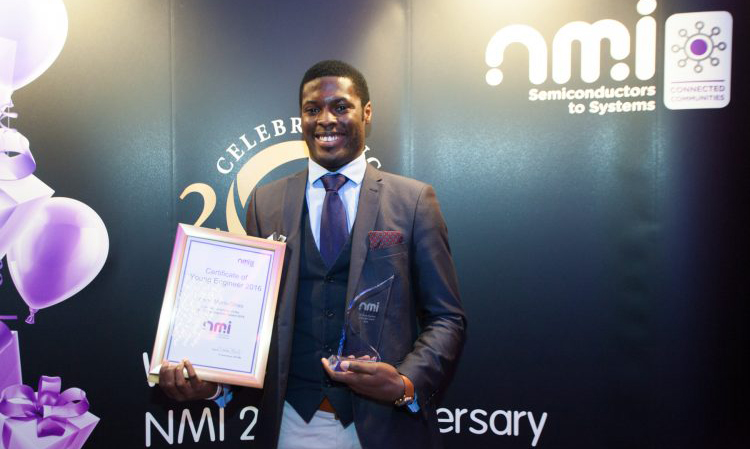 Keno Mario-Ghae Young engineer of the year